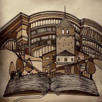 世界の童話シリーズその221 「京都のかえると大阪のかえる」